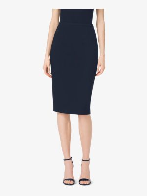 Michael Kors Collection Stretch-Wool Gabardine Pencil Skirt