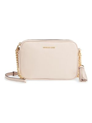 Michael Kors michael  medium ginny leather camera bag