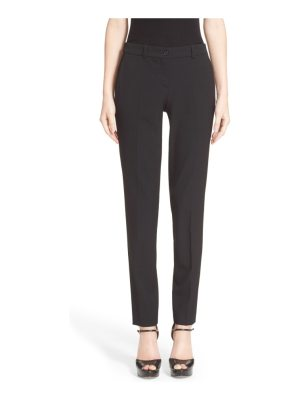 Michael Kors 'samantha' stretch wool straight leg pants