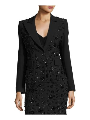 Michael Kors Collection Sequined-Floral Dinner Jacket