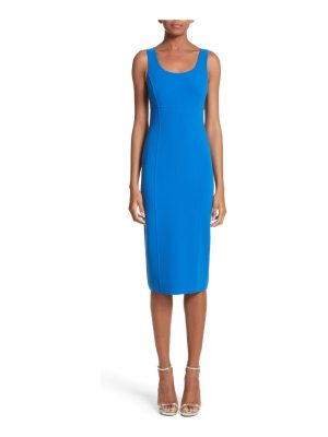 Michael Kors stretch wool scoopneck sheath dress