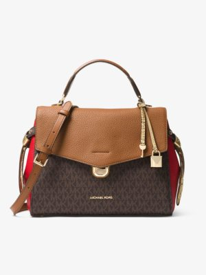 MICHAEL Michael Kors Bristol Medium Logo Satchel