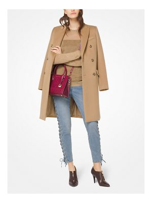 MICHAEL Michael Kors Wool-Blend Officer's Coat