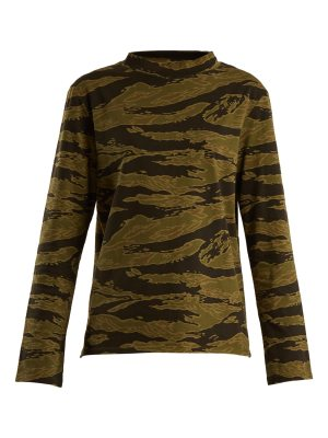 M.i.h Jeans Emelie camouflage-print cotton-jersey T-shirt