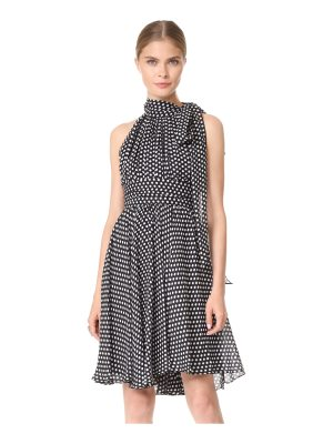Milly dot print lydia dress
