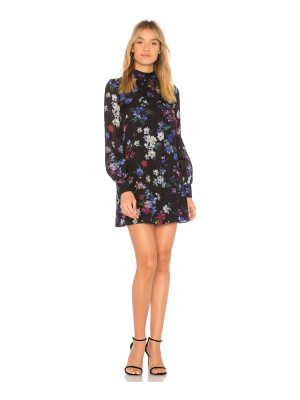 Milly Sherie Painted Floral Dress
