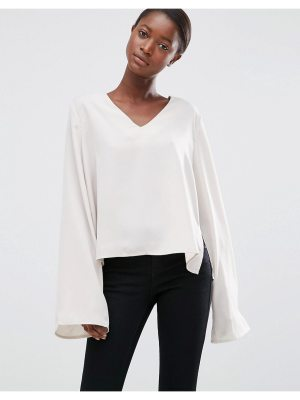 Minimum Moves Enny Flared Sleeve Blouse