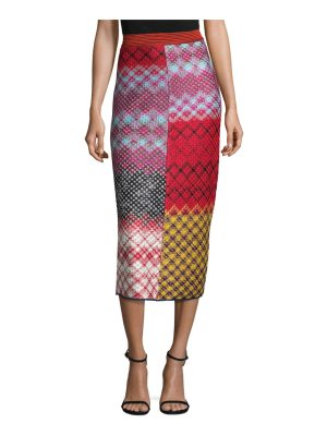 Missoni lace midi skirt