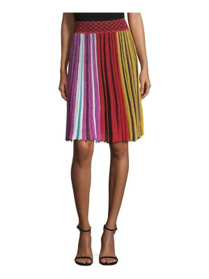 Missoni metallic ribbed skirt