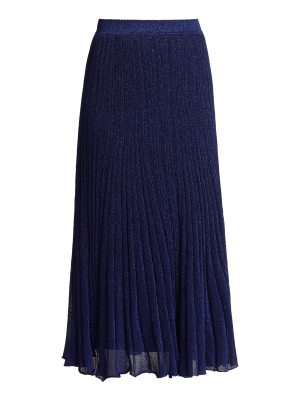 Missoni Pleated knit midi skirt