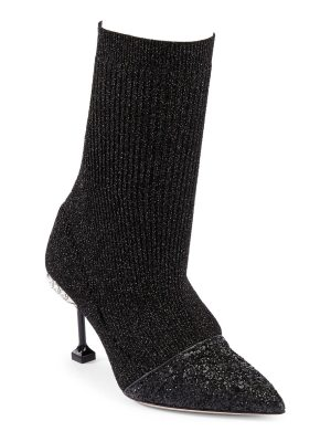 Miu Miu cap toe sock booties