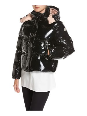Moncler Gaura Shiny Puffer Quilted Coat