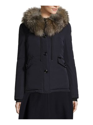 Moncler malus fox fur jacket