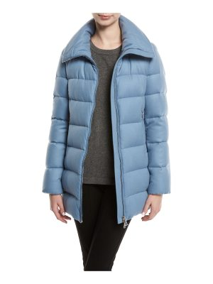 Moncler Torcelle High-Neck Puffer Coat