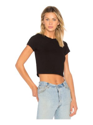 MONROW fitted cap sleeve tee