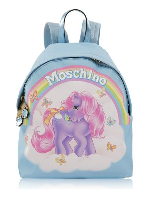 Moschino my little pony capsule print backpack