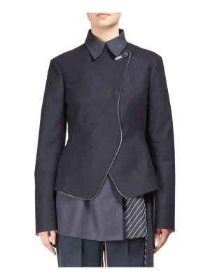 C dric Charlier Woolen Double-Breasted Jacket