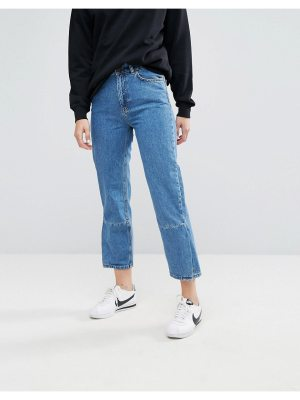 Moss Copenhagen Mom Jeans With Reconstructed Panel