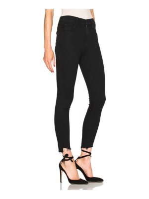 MOTHER Stunner Zip Ankle Step Fray