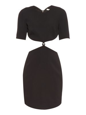 Mugler Cut-out cady dress
