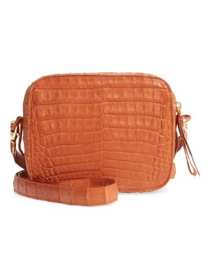 Nancy Gonzalez genuine crocodile crossbody bag