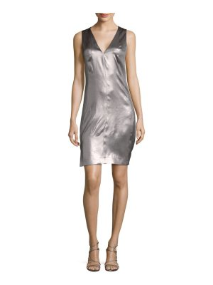 Narciso Rodriguez LK10 Silk Satin Knee-Length Dress