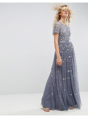 Needle & Thread Needle and Thread Embellished Maxi Gown