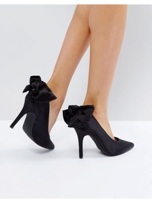 New Look Bow Back Court Shoe