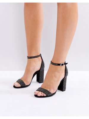 New Look Diamant Barely There Heeled Sandal
