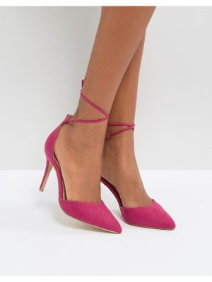 New Look Lace Up Heeled Shoes