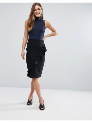 New Look Ruffle Front Skirt