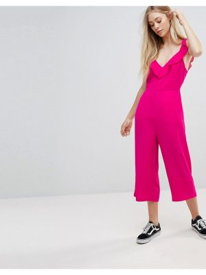 New Look Ruffle Straps Culotte Jumpsuit