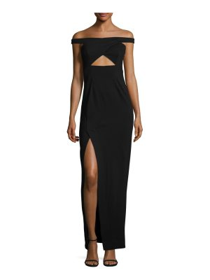 NICHOLAS Event Ponti Cross-Over Gown