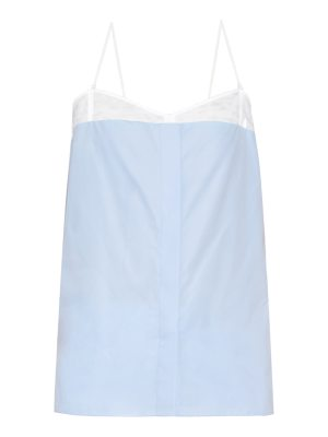 Nina Ricci Cotton-poplin cami top
