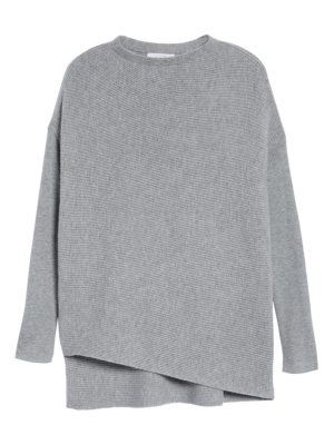 Nordstrom Signature cashmere asymmetrical pullover