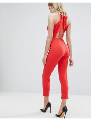 OH MY LOVE Jumpsuit With Bow Back