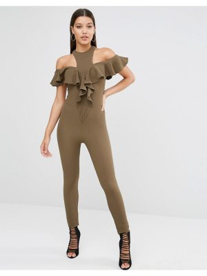 OH MY LOVE off the shoulder Jumpsuit
