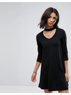 Only Abbie Swing Dress With Choker Collar