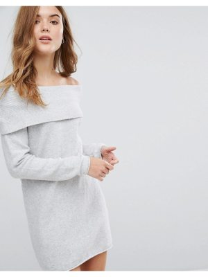 Only Off The Shoulder Sweater Dress