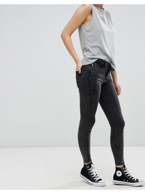 Only royal zip ankle skinny jeans