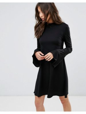 Only Swing Dress With Bell Sleeve Detail