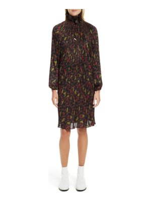 Opening Ceremony pleated floral dress