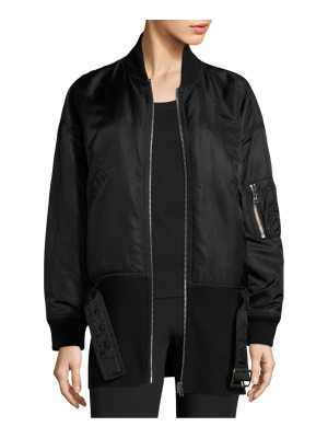 Opening Ceremony belted bomber jacket