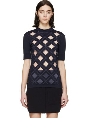 Paco Rabanne Diamond Cut-Out Top