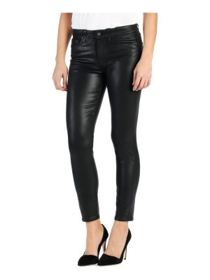 Paige Jeans hoxton coated ankle pants