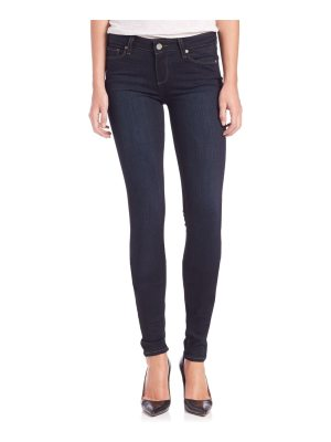 Paige Jeans verdugo transcend mid-rise ultra-skinny extra-long leggy jeans