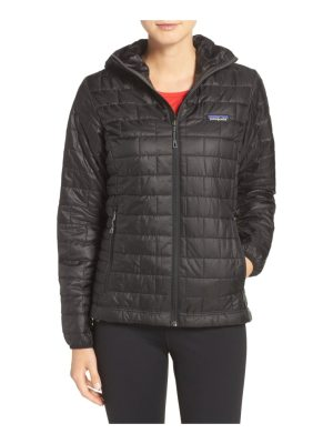 Patagonia nano puff hooded water resistant jacket