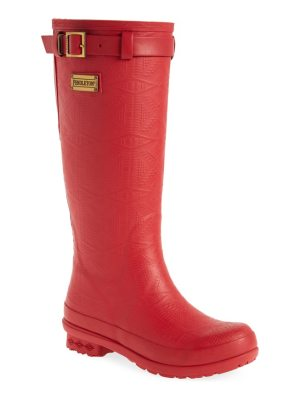 PENDLETON BOOT pendleton embossed tall waterproof rain boot