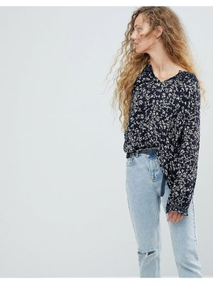 Pepe Jeans ditsy floral blouse