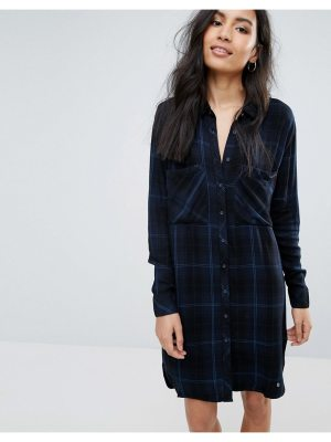 Pepe Jeans Louise Checked Shirt Dress